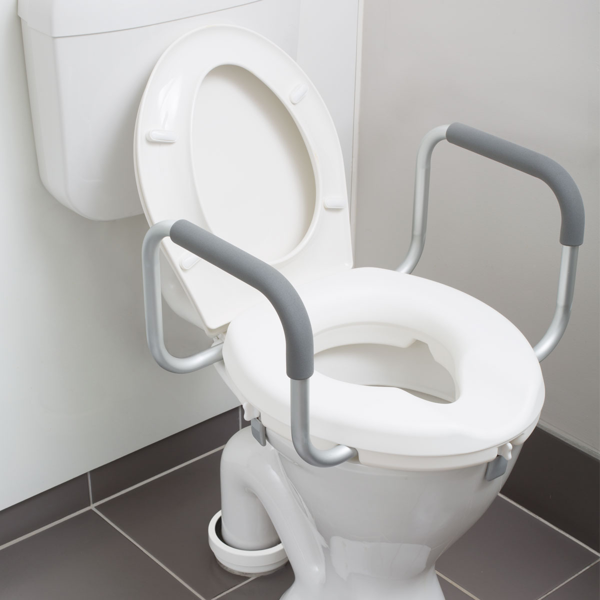 2 Raised Toilet Seat With Arms Mobility Centre