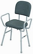 Perching Stool With Arms And Back