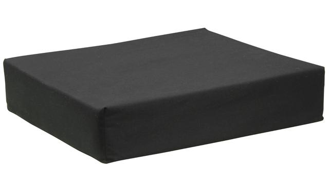 Layered Foam Seat Cushion Black, Memory Foam Chair Pad Nz